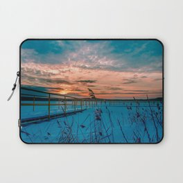 Waiting for the Summer Laptop Sleeve