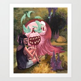 Jelly Monger Art Print