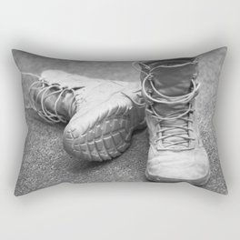 A Mile in My Boots Rectangular Pillow
