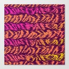 Fur Stripes Canvas Print