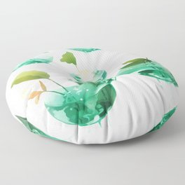 the hovering ponds. Floor Pillow