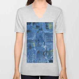 Starry Night, Deconstructed Unisex V-Neck