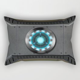 Arc Reactor hero Rectangular Pillow