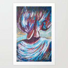 Pleasure - Mazuir Ross Art Print
