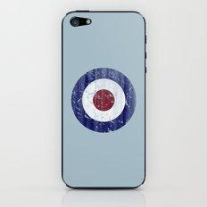 Vintage Mod Target iPhone & iPod Skin