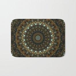 Jewels and Copper Bath Mat