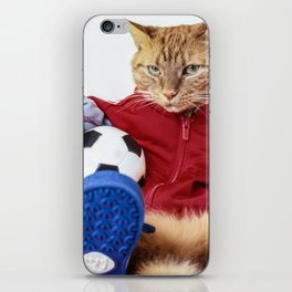 The Cat is #Adidas iPhone Skin