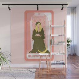 Tarot Card II: The High Priestess Wall Mural
