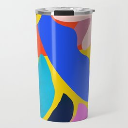 Unbridled Enthusiasm - Shapes and Layers no.38 Travel Mug
