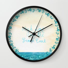 High Lord of the Summer Court Wall Clock