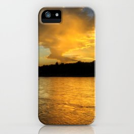 when the light turns to gold... iPhone Case