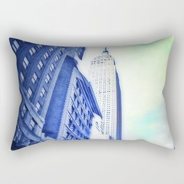 Just Another Day in the Jungle Rectangular Pillow