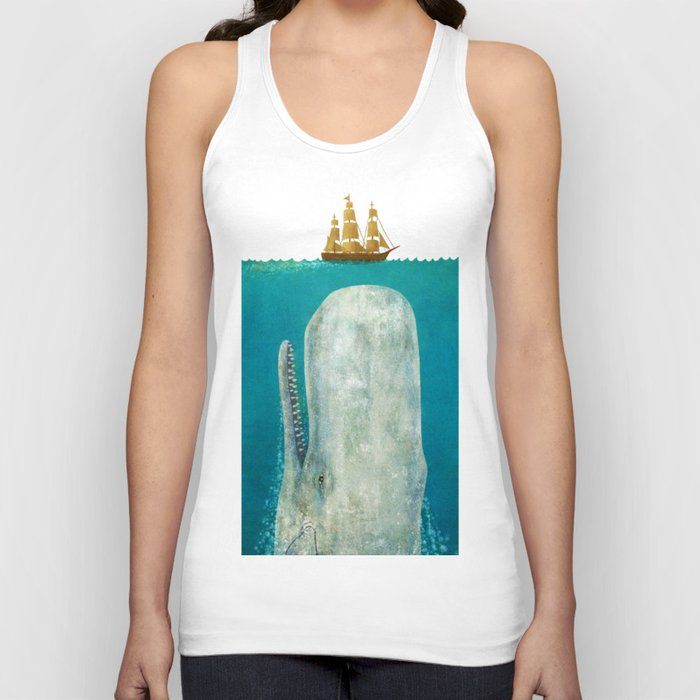 The Whale Unisex Tank Top