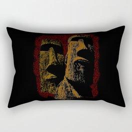 Rapa Nui Rectangular Pillow