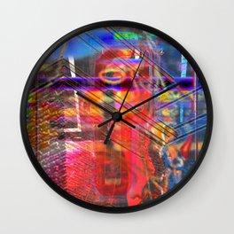 "Tragic ""F"" (A Simple Constraint Series) Wall Clock"