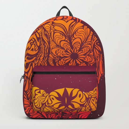 Not a circus elephant african version Backpack