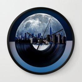 new york  city music 2 Wall Clock