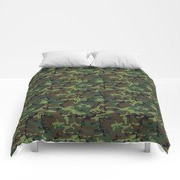 U.S. Woodland Camo Comforters
