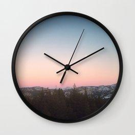 Bad Moon Rising Wall Clock
