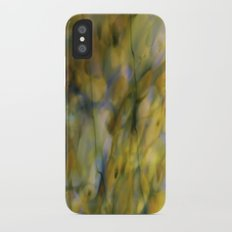 Abstract Green iPhone X Slim Case