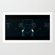 Flynn / Tron Art Print