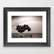 Graped, left to die Framed Art Print
