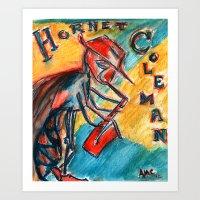 Hornette Coleman Art Print