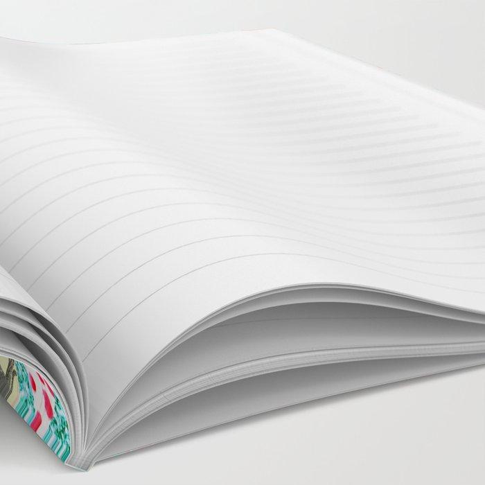 Rainbow Abstract Geometric  Notebook
