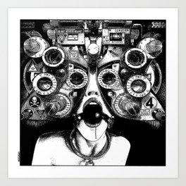 asc 712 - Le masque de la Méduse (Object woman) Art Print