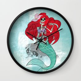 Day of the Dead Ariel Wall Clock