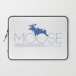 moose stache Laptop Sleeve