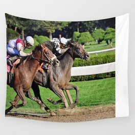 Travers Stakes Wall Tapestry