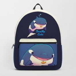 Deadly Cute Orca Backpack