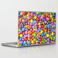 saga Laptop & iPad Skins featuring Candy Crush Saga by ArtSchool