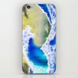 The GreatWave Interpretation iPhone Skin