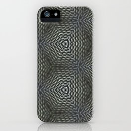 Gray And Grayer iPhone Case
