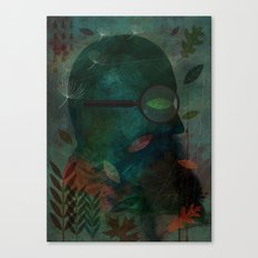The Ever Curious Botanist Canvas Print