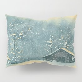 Hope Amidst the Storm–Watercolor Pillow Sham
