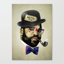 MISTER TEA Canvas Print
