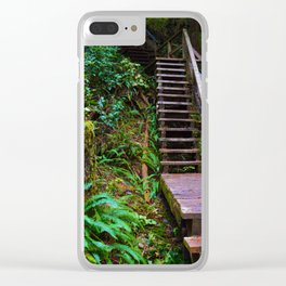 Staircase to heaven Clear iPhone Case