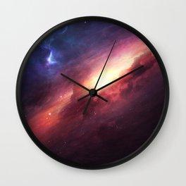 Digi Space Wall Clock