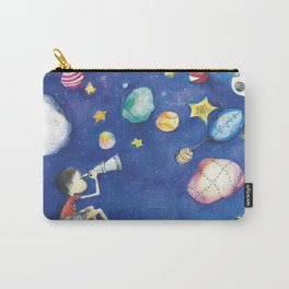 Stars and little planets Carry-All Pouch