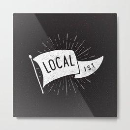 Localist Metal Print