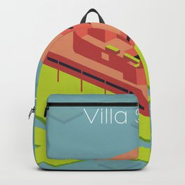 Villa Savoye and Le Corbusier Backpack