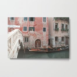 The gondola Metal Print