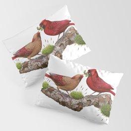 Northern  Cardinals Pillow Sham