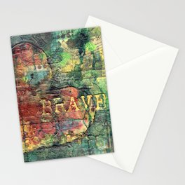 Permission Series: Brave Stationery Cards