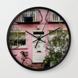 Notting Hill, London England Wall Clock