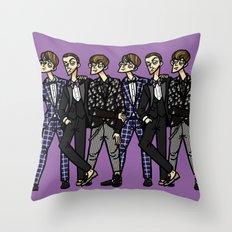 file 027. formal informal Throw Pillow
