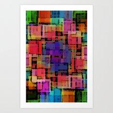 Shapes#6 Art Print